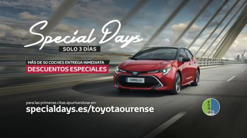 Special Days en Toyota Ourense